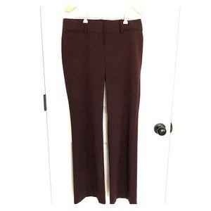 Loft Sz 4 deep plum trouser
